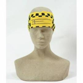 Exel floorball headband Yellow/blue