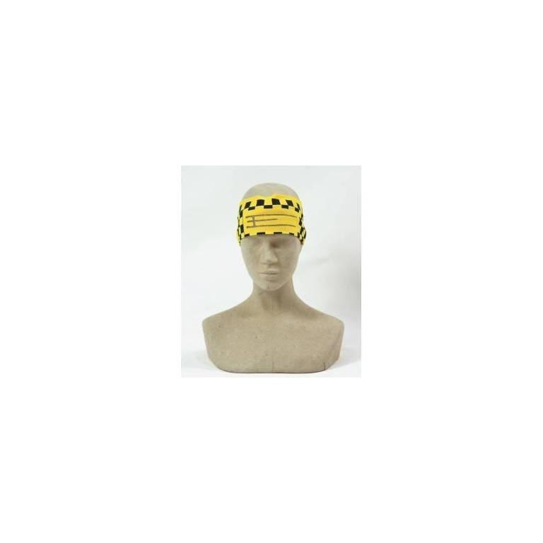 Exel floorball headband Yellow/blue