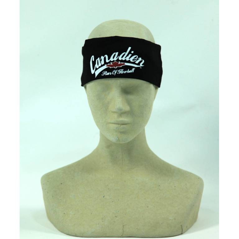 canadien floorball headband black
