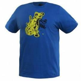 Salming floorball camiseta tee blue