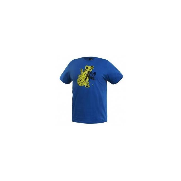 Salming floorball t-shirt tee blue