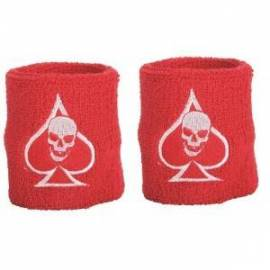 Pack 2 Wristband FatPipe Floorball Casino Red