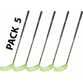 Pack 5 sticks 95 cm unihockey floorball