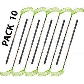 Pack 10 sticks 95 cm unihockey floorball