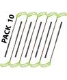Pack 10 sticks 95 cm unihockey floorball