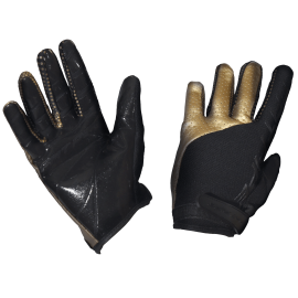 Fat pipe goalkeeper gloves Golden