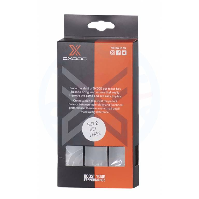 Grip Oxdog Boost pack x 3 grey